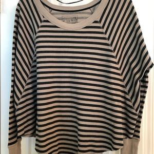 We The Free Striped Top (xs, s or m)